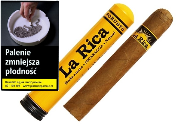 CYGARA LA RICA ROBUSTO TUBOS-WYŁĄCZNIE DLA FIRM !!