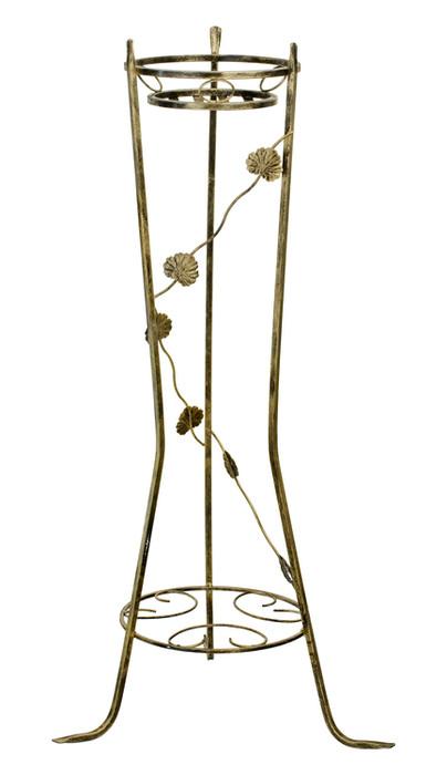 Kovový kvetinový stojan na 1 kvety 120cm 66a