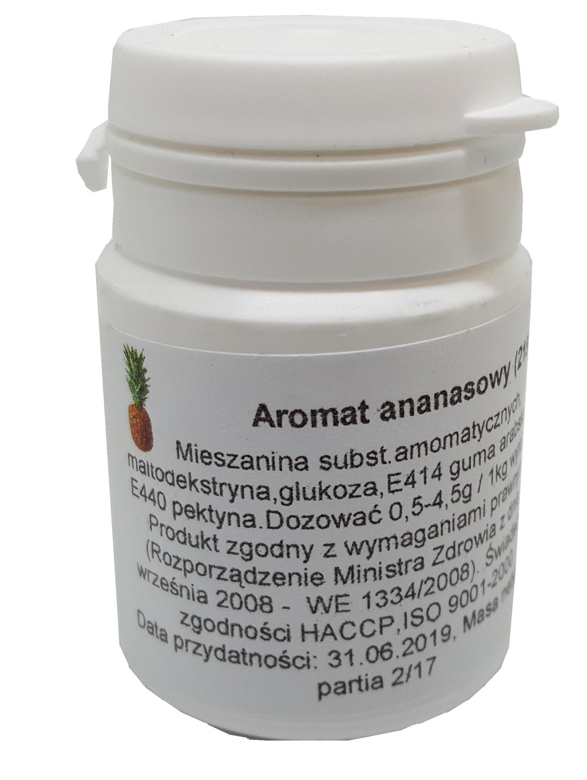 id_2155 AROMAT ANANASOWY ANANAS 20g TORT AROMATY
