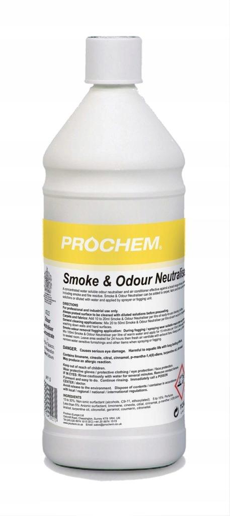 Прах Odour Neutraliser A222 1Л после пожара SP9