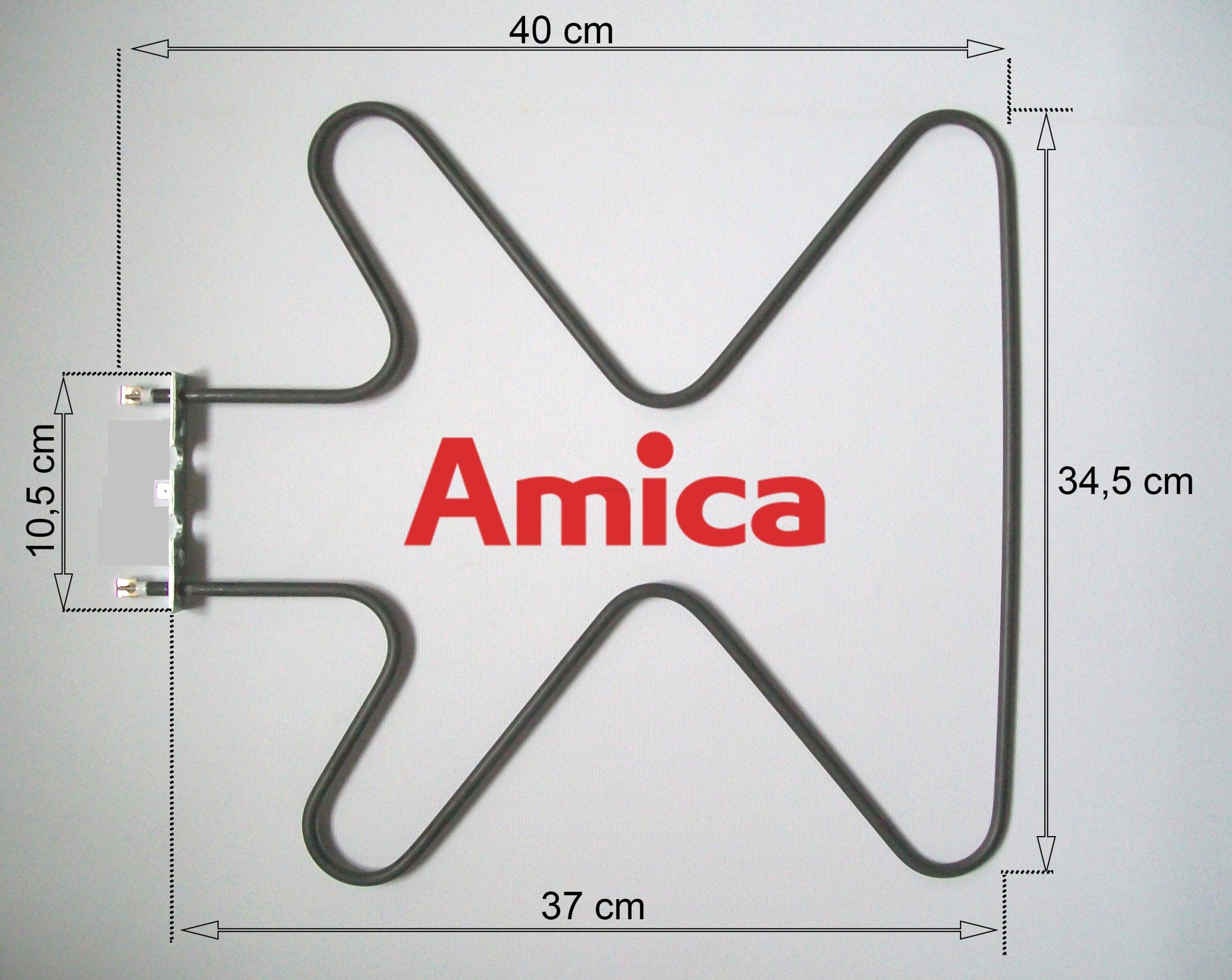 Orygnialna grzałka dolna piekarnika Amica 1300W Przeznaczenie kuchenka