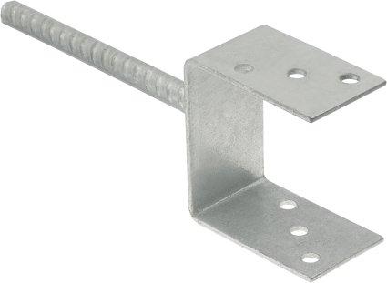 Základ stĺpca pre zastavanú kotvu v 140 mm gr 5 mm