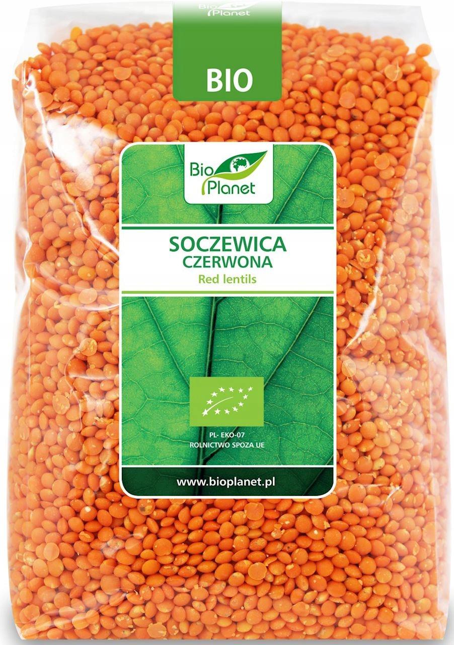 Купить Красная чечевица 1 кг био на Otpravka - цены и фото - доставка из Польши и стран Европы в Украину.