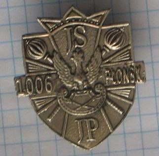 JS JP 1006 Płońsk odznak