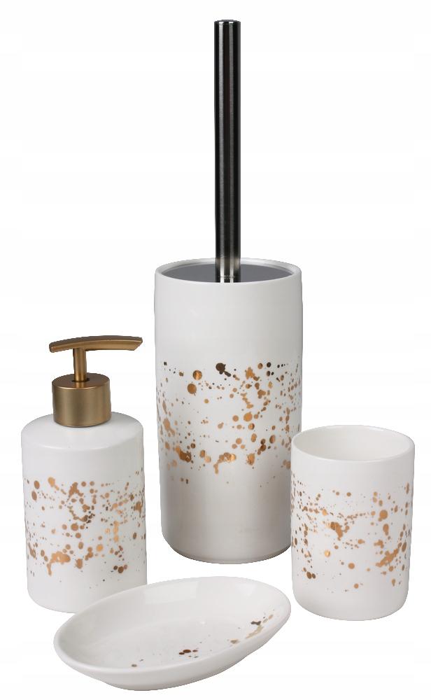 Kúpeľňová zostava Skylight 4 ks. biele zlato