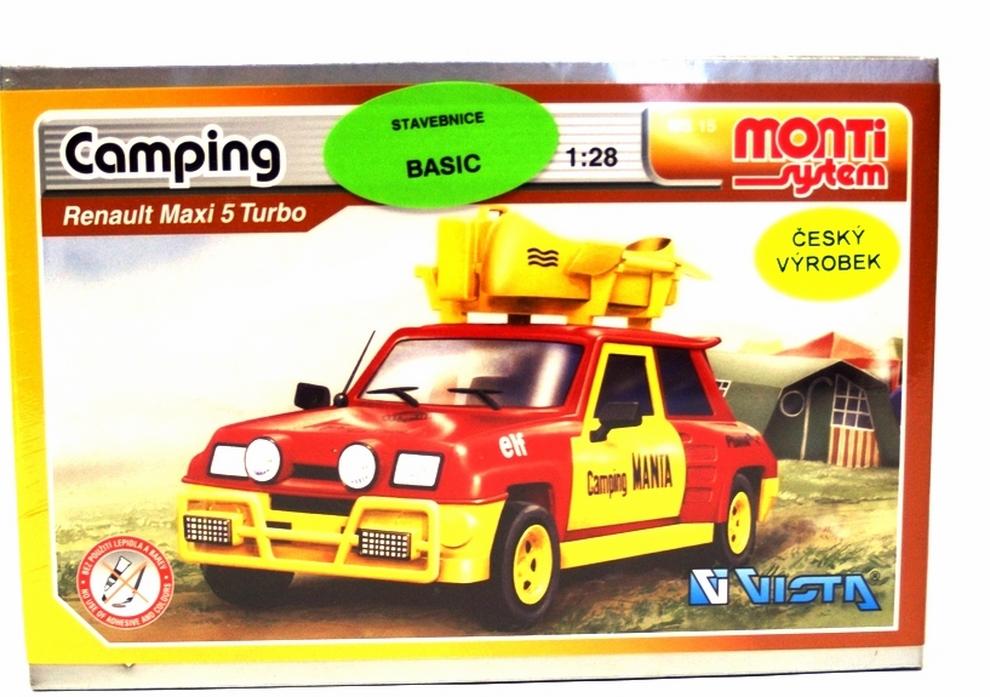 Renault Maxi 5 Turbo Camping model 1:28