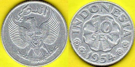 INDONEZJA 10 Sen 1954 r.