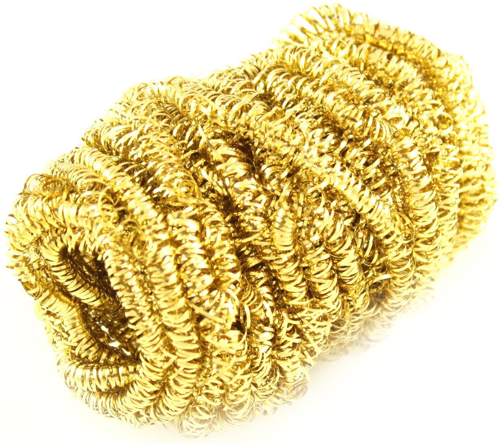 Тряпочка латунный - вклад, губка (золотой)____NAR-045