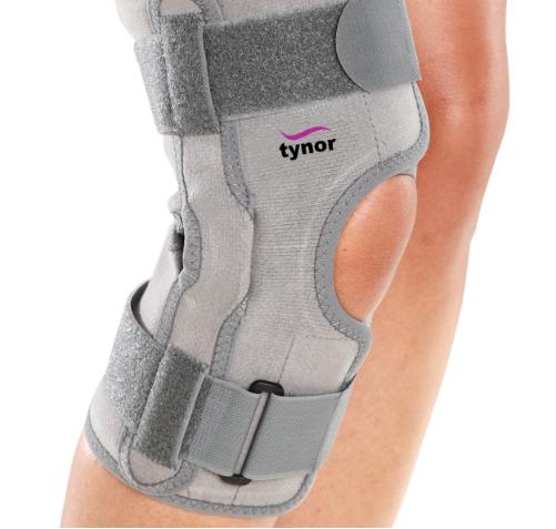 Orbóza stabilizátora kolena s koľajnicami