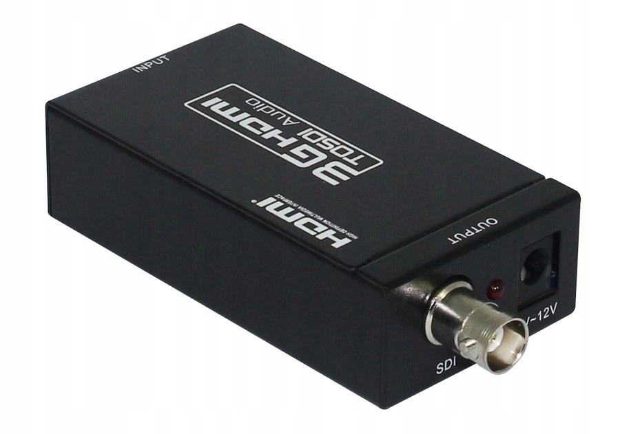 Купить HDV-S009 Преобразователь сигнала HDMI в 3G HD-SDI 1008p на Otpravka - цены и фото - доставка из Польши и стран Европы в Украину.