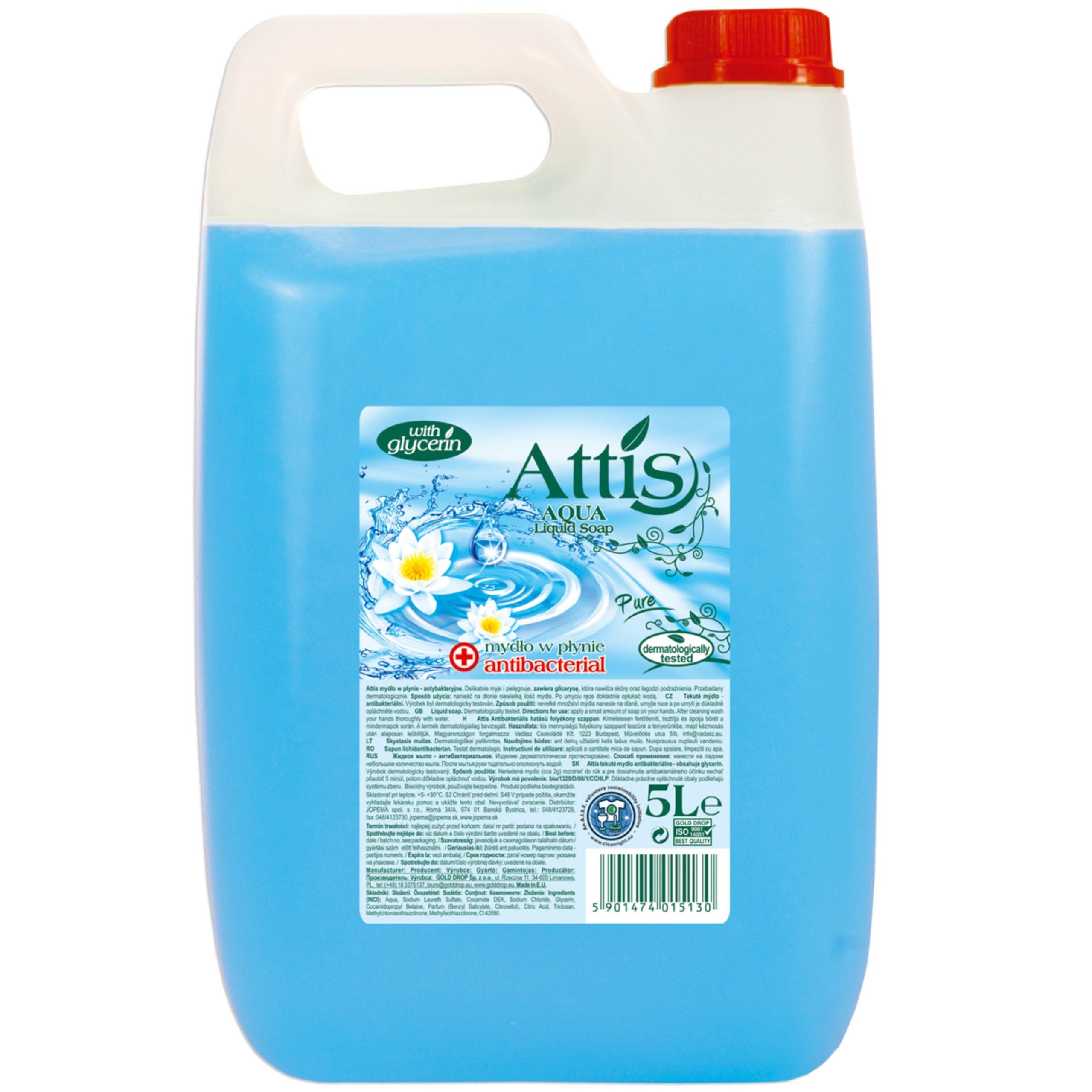 Tekuté mydlo ATTIS Antibakteriálne 5L