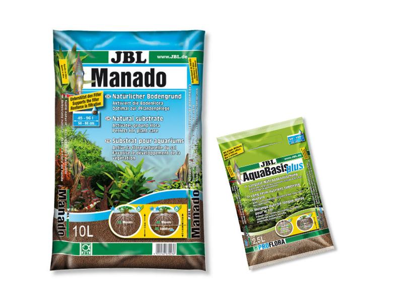 JBL NASTAVIŤ PÔDY 10 L MANADO + AQUABASIS 2.5 L