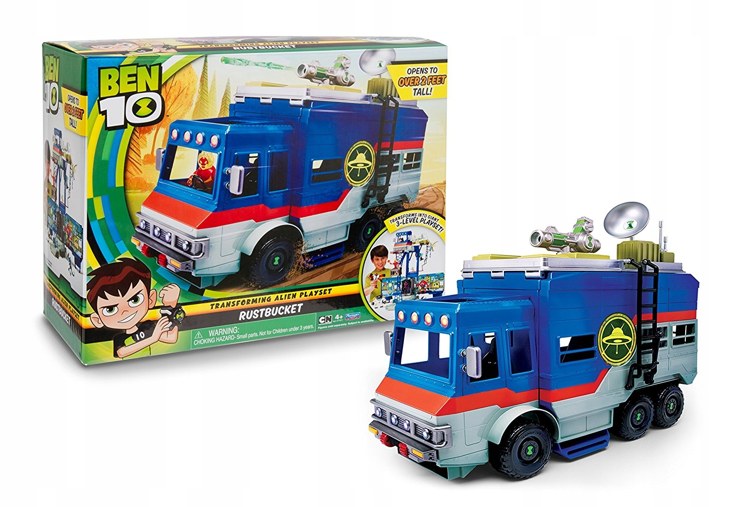 Ben 10 - Rumble Space Transformation Vehicle