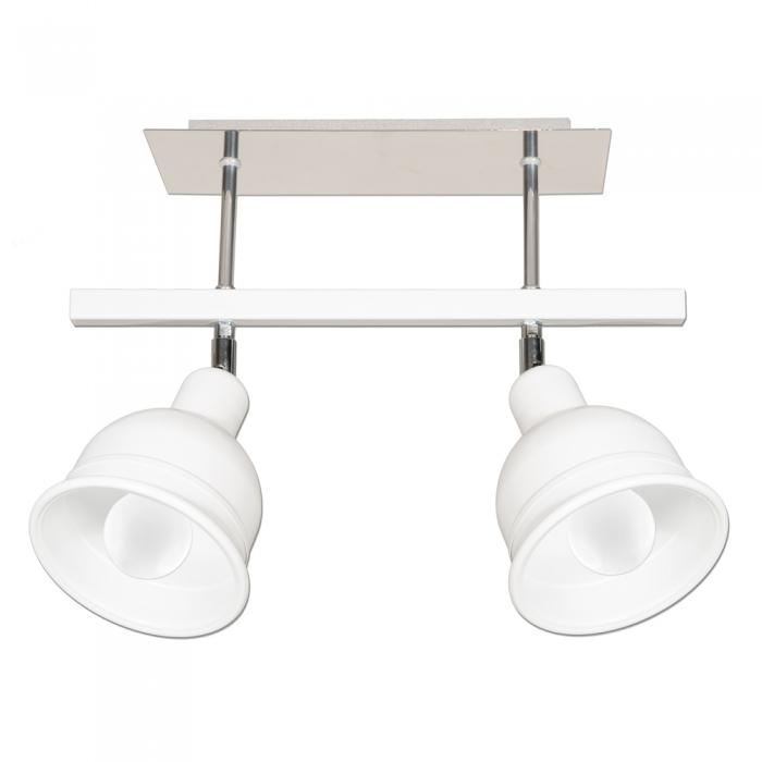 Moderná lampa prívesok lampa BERONI z dvoch súrodencov, kemar / BIELA