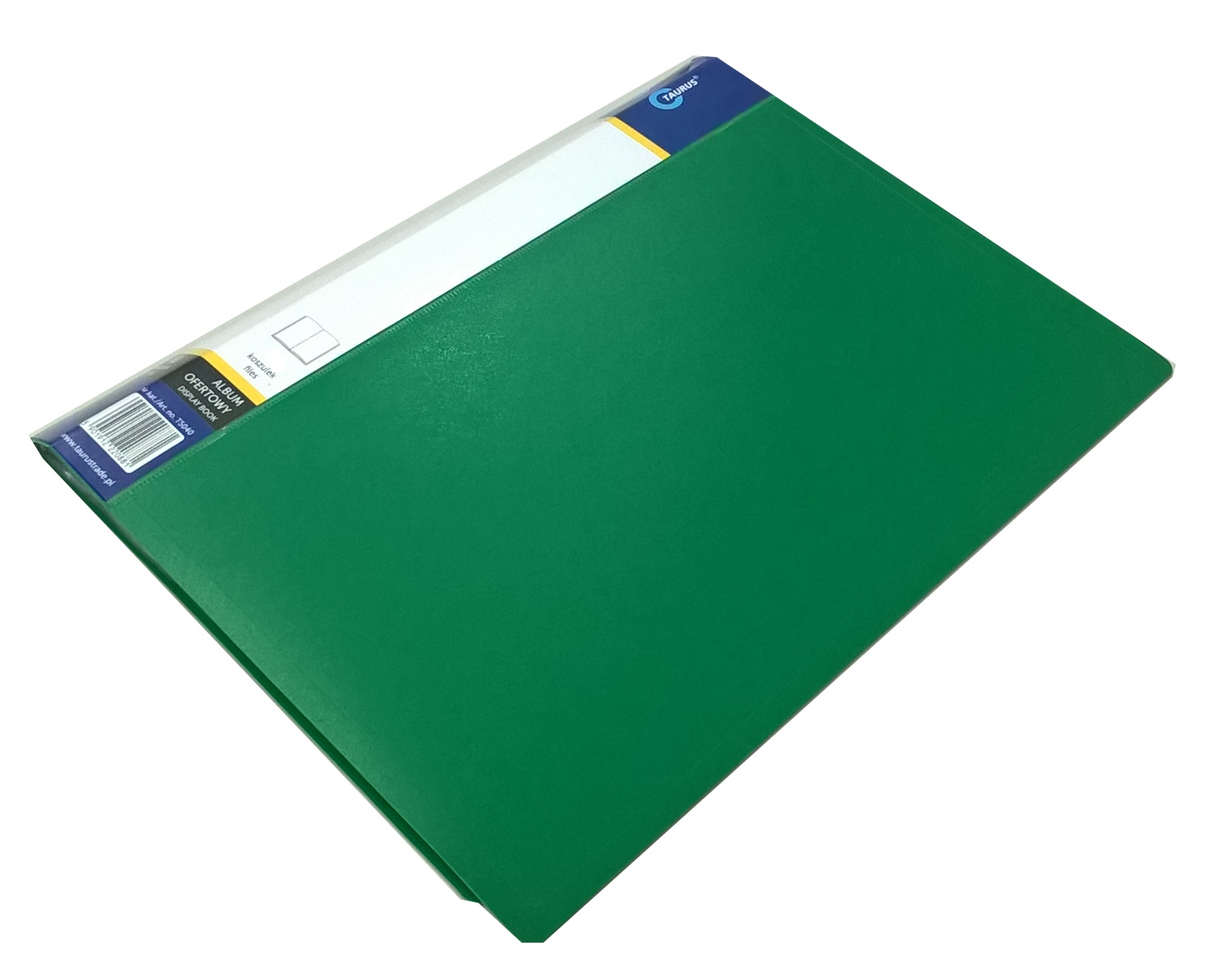 Item FOLDER OFFER ALBUM A4 With 40 sheets-GREEN cover