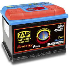 Akumulator ZAP ENERGY PLUS 60Ah MARINE CAMPER