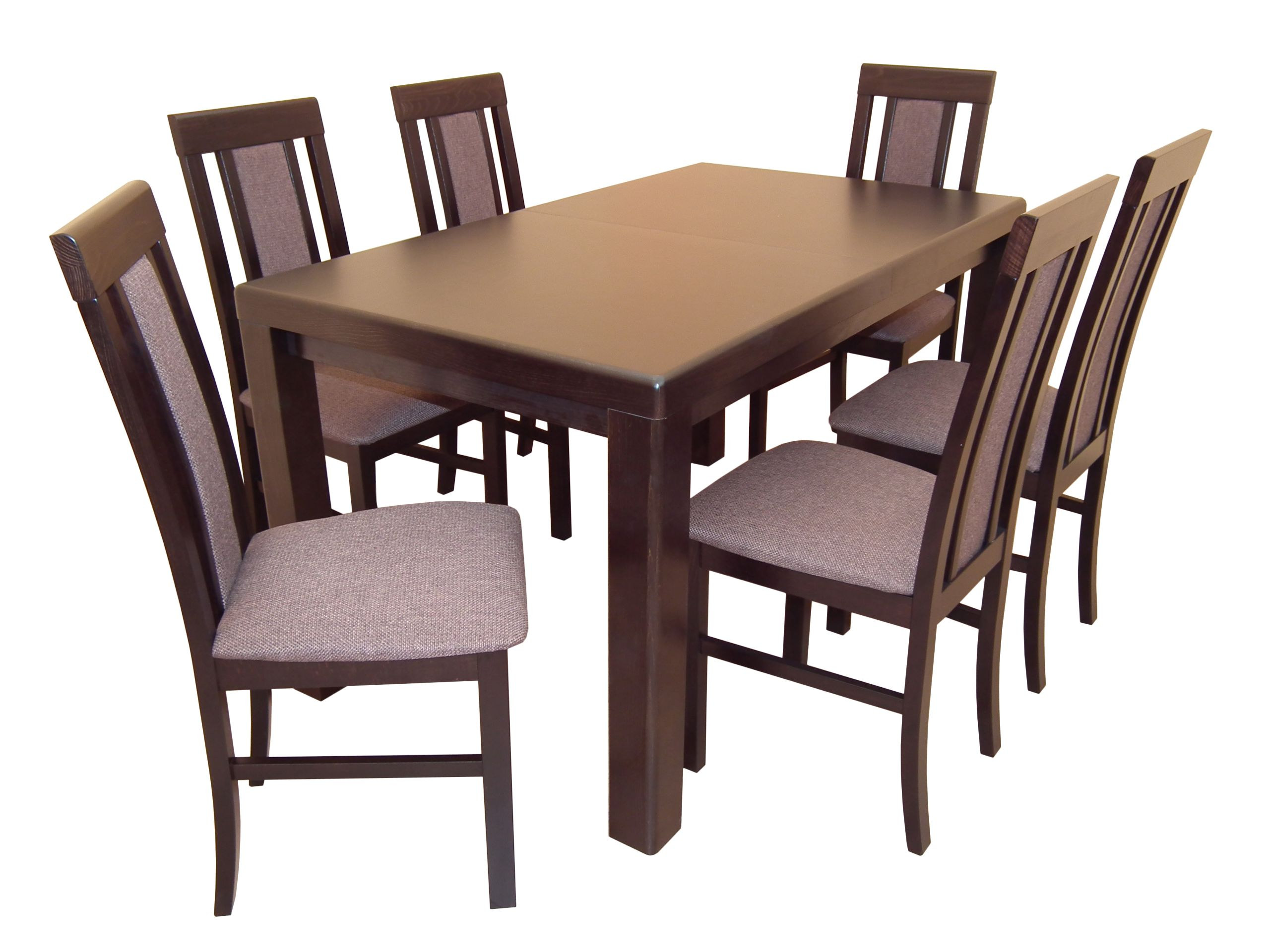 Nové 80x120x160 rozšírenie Stôl so 6 stoličkami