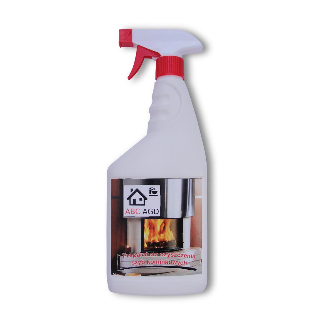 Płyn do czyszczenia mycia szyb kominkowych super