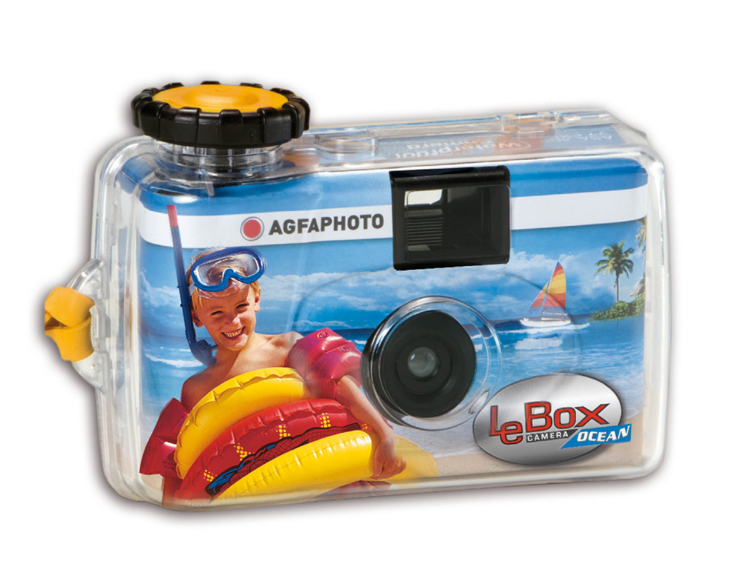 Item Agfa Lebox Ocean 400/27 analog camera underwater
