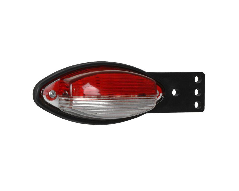 Lampa OBRYSOWA boczna gumowa płaska uchwyt kątowy