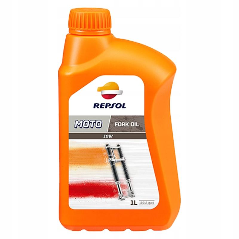 Olej do amortyzatora REPSOL Moto Fork Oil 10W 1L