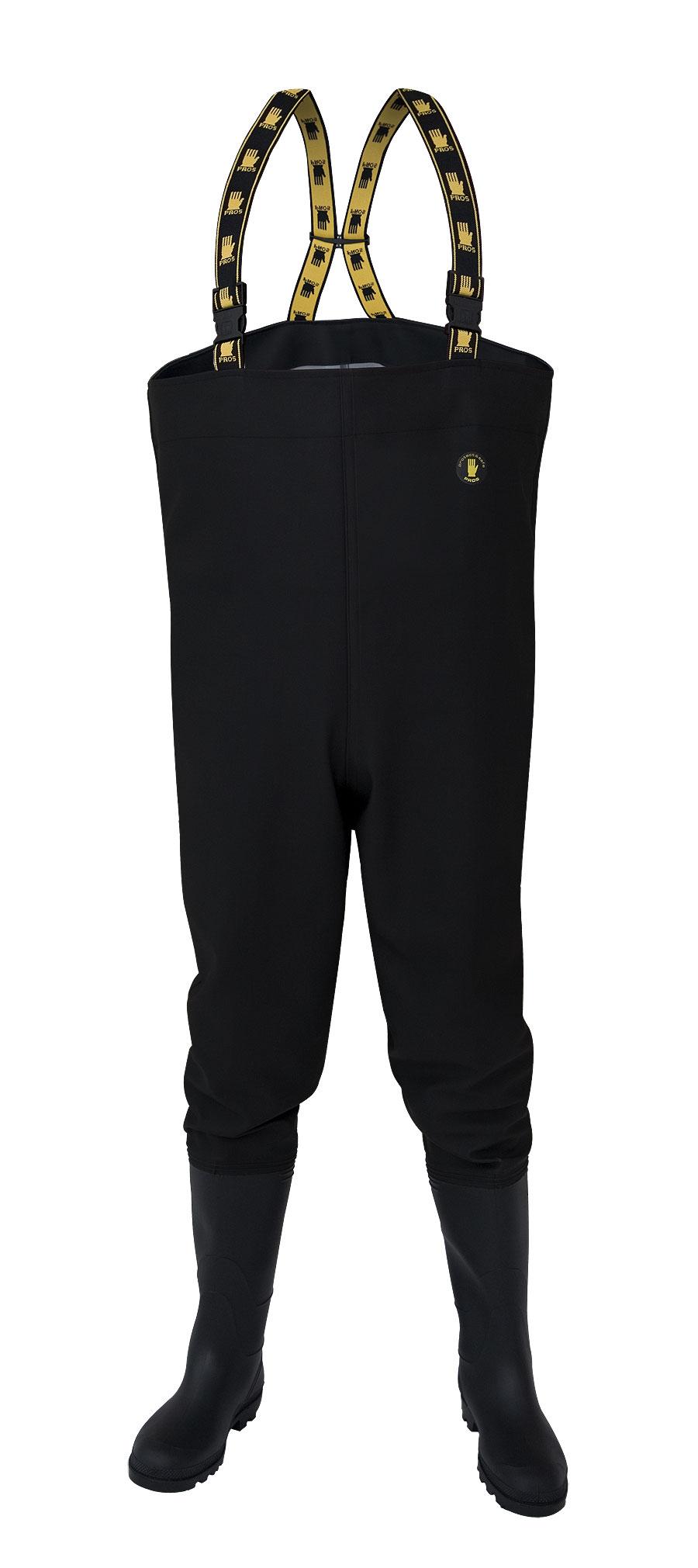Spodniobuty Wodery PROS SB01 Czarne r.41 с Польский