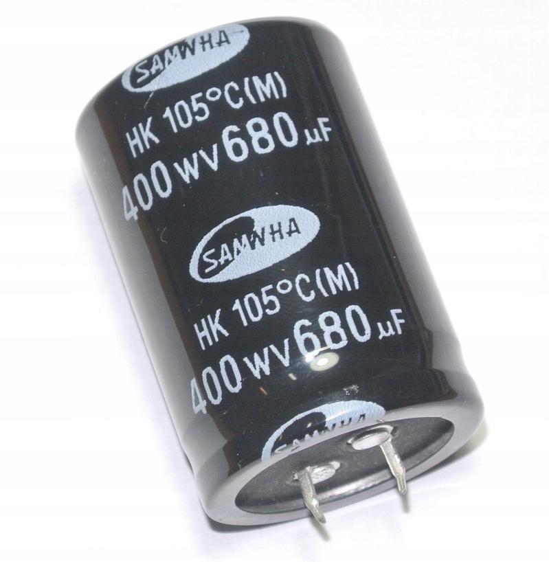 680uF 400V 105' SAMWHA HK 35x52mm _________ [1szt]