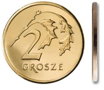 Кошелек для монет 2 гроша 1992 года
