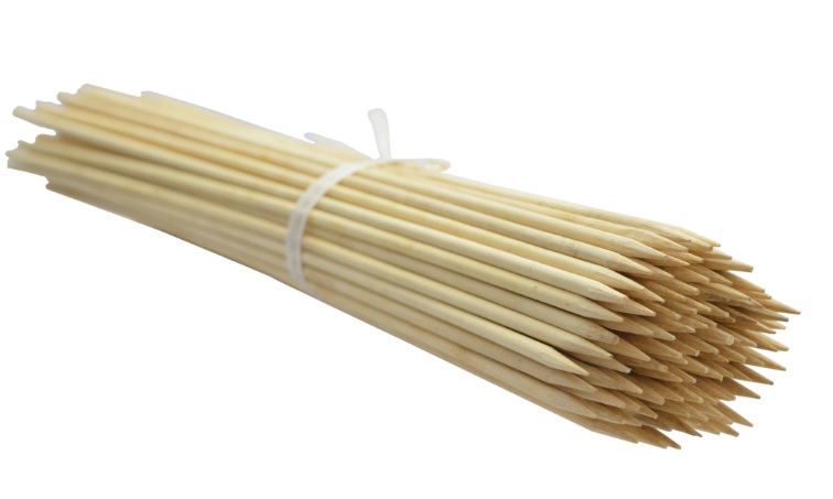 Gombíky bambusu 30 cm 4 mm /5000шт/ b.lupan