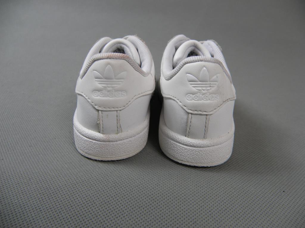 ADIDAS SUPERSTAR skórzane buty sportowe 25,5