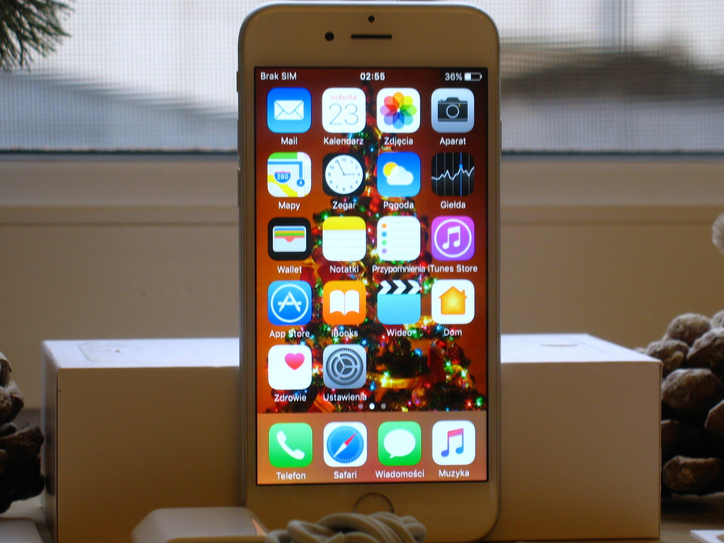 Apple Iphone 6 64gb Silver A1586 7103176329 Oficjalne