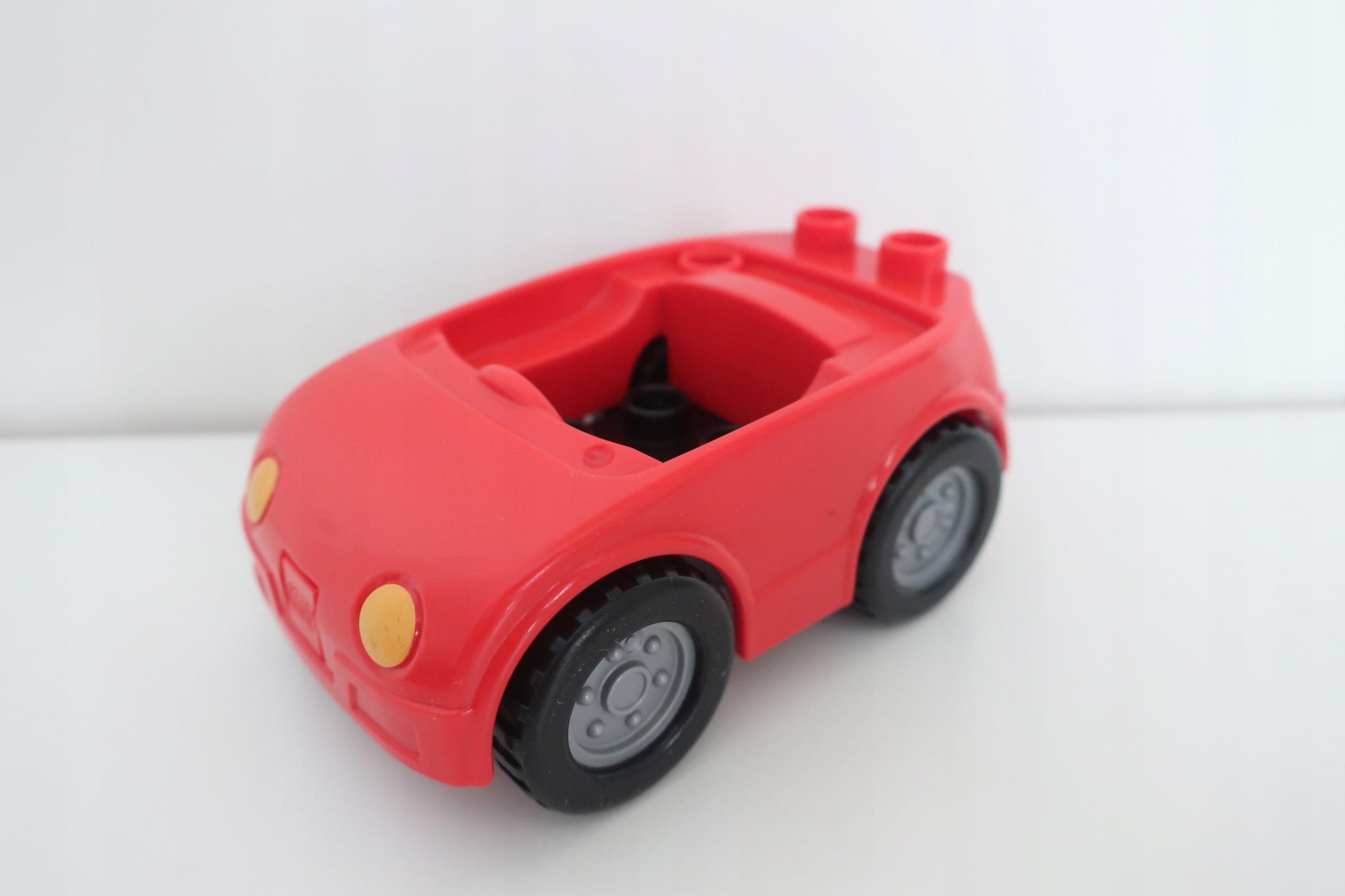 Lego Duplo Autko Czerwone 7638191182 Oficjalne Archiwum Allegro