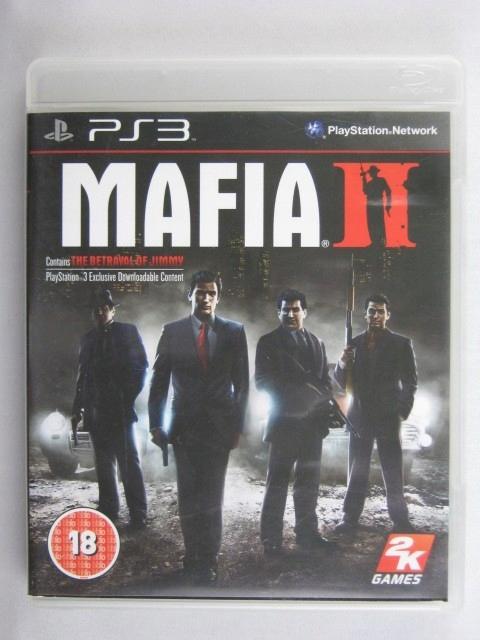 Mafia Ii Plakatmapa Ps3 Sklep Gwarancja 7667660236