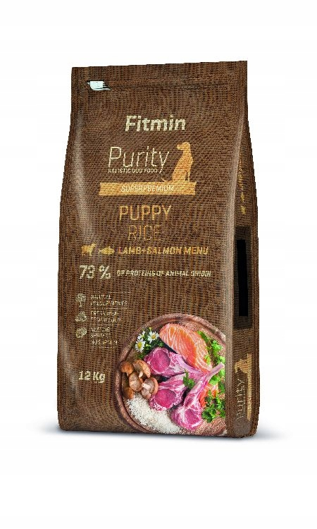 FITMIN PURITY PUPPY LAMB SALMON 12KG+ GRATIS