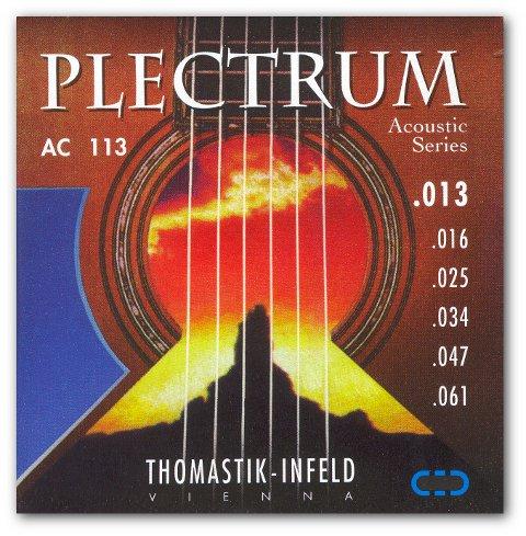 Struny gitarowe THOMASTIK PLECTRUM AC 113 komplet