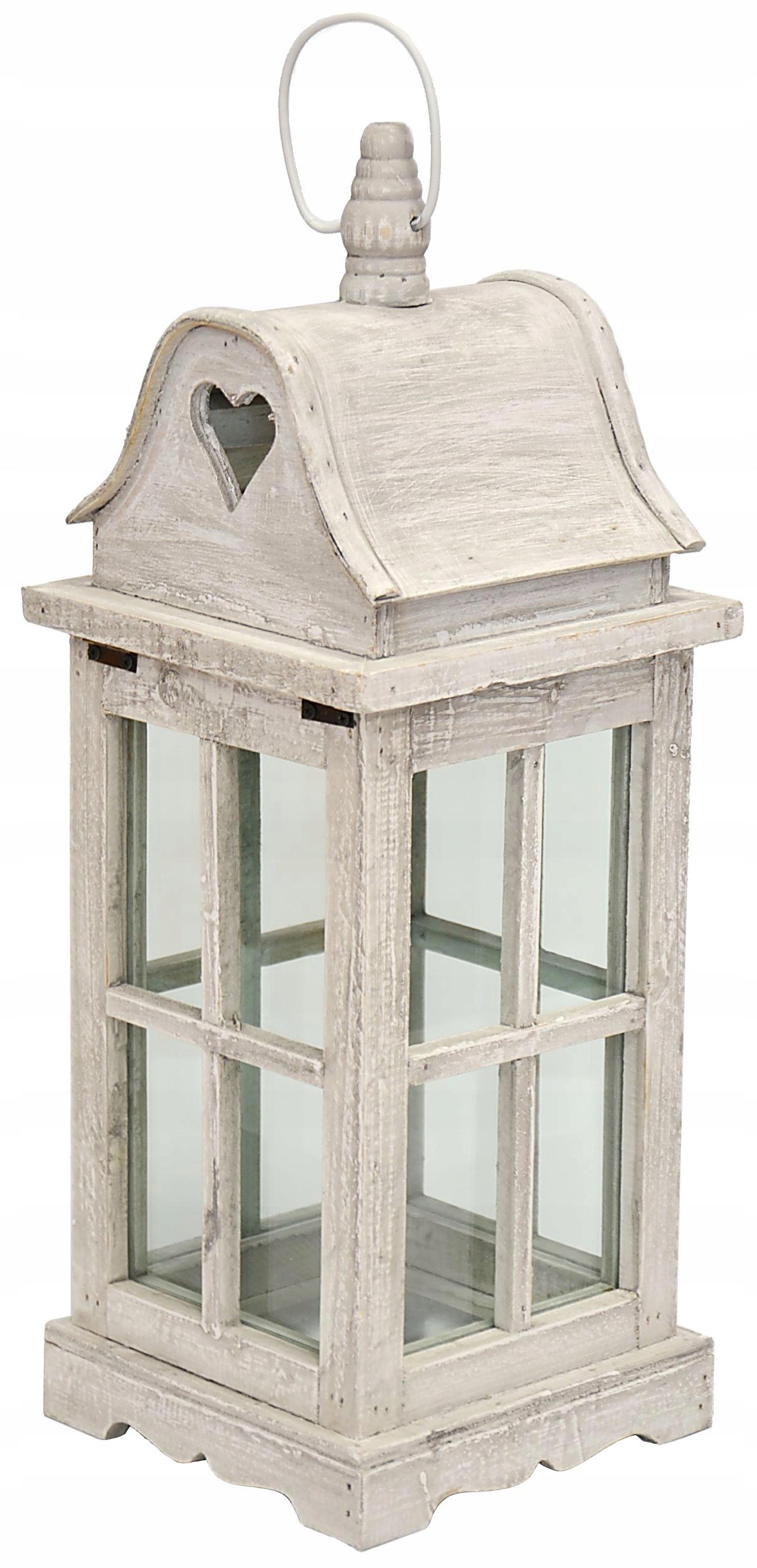 Latarnie Piękne Lampiony Drewniane Dekoracyjne 7186771890