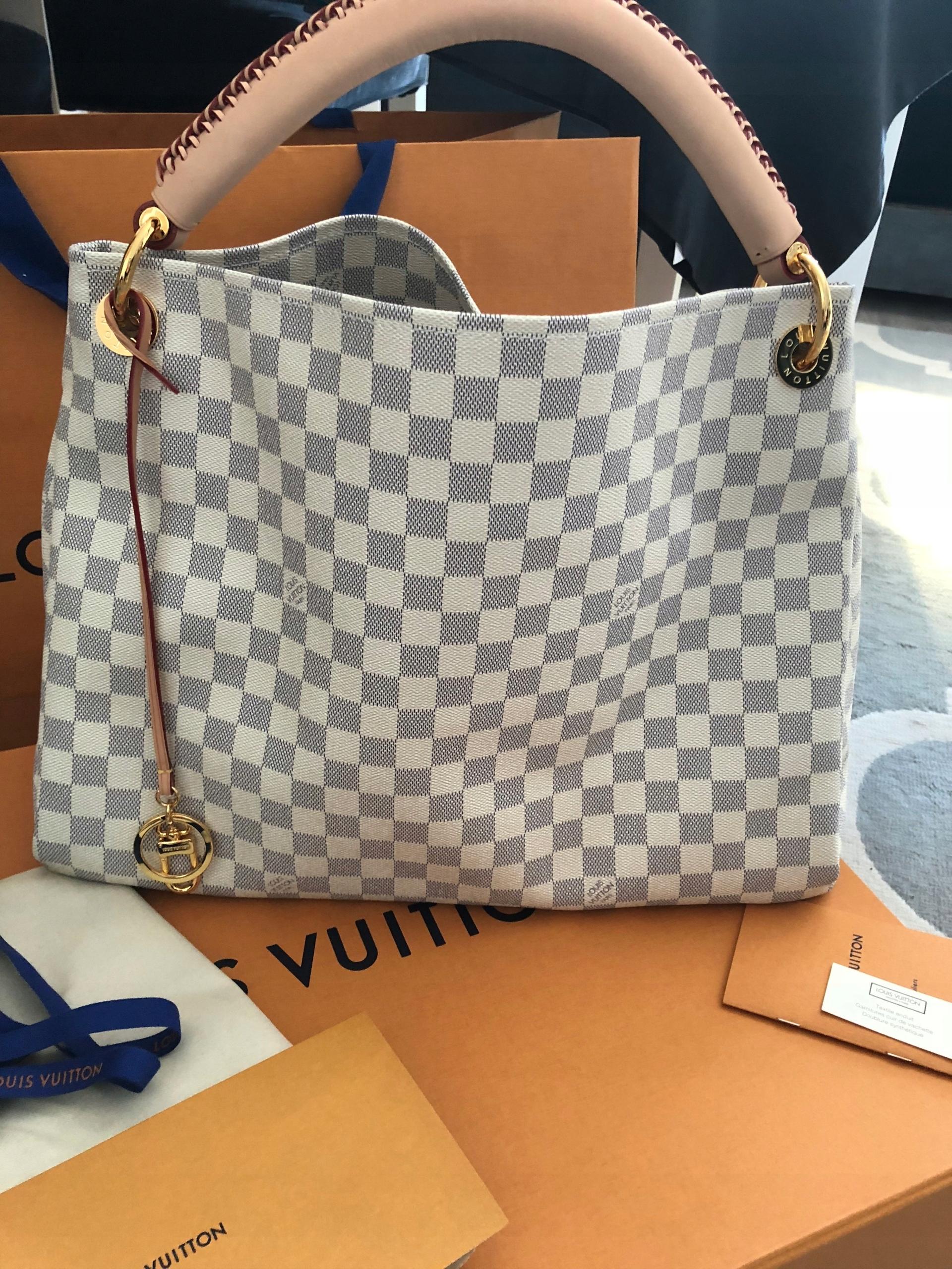 Louis Vuitton Artsy MM Dam. Azur rachunek - 7525399035 - oficjalne ... ff5d82ba0de