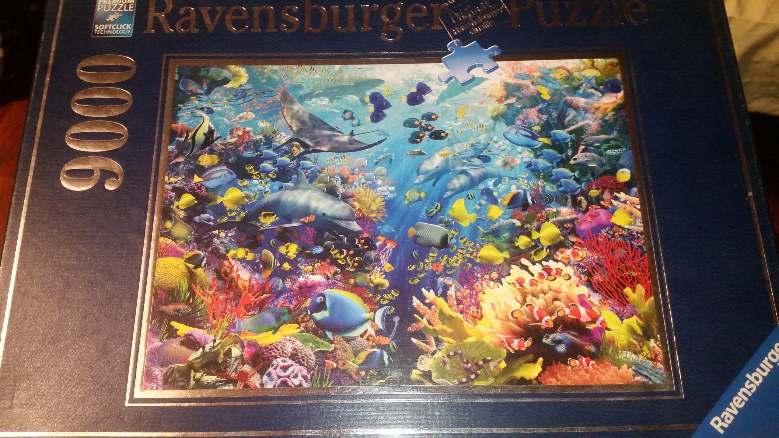 Puzzle 9000  Ravensburger Podwodny raj