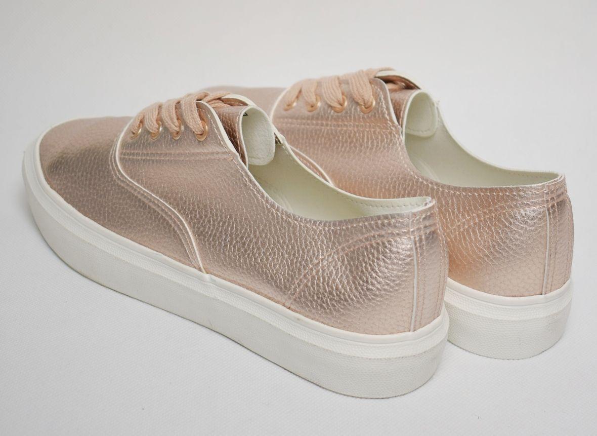 E&O markowe buty VEGAN TRAMPKI damskie 42 7270107858