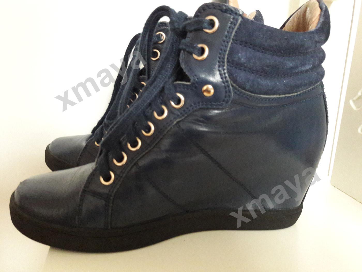 c0eb57cf KAZAR sneakersy trzewiki trampki skóra 38 - 7176241205 - oficjalne archiwum  allegro