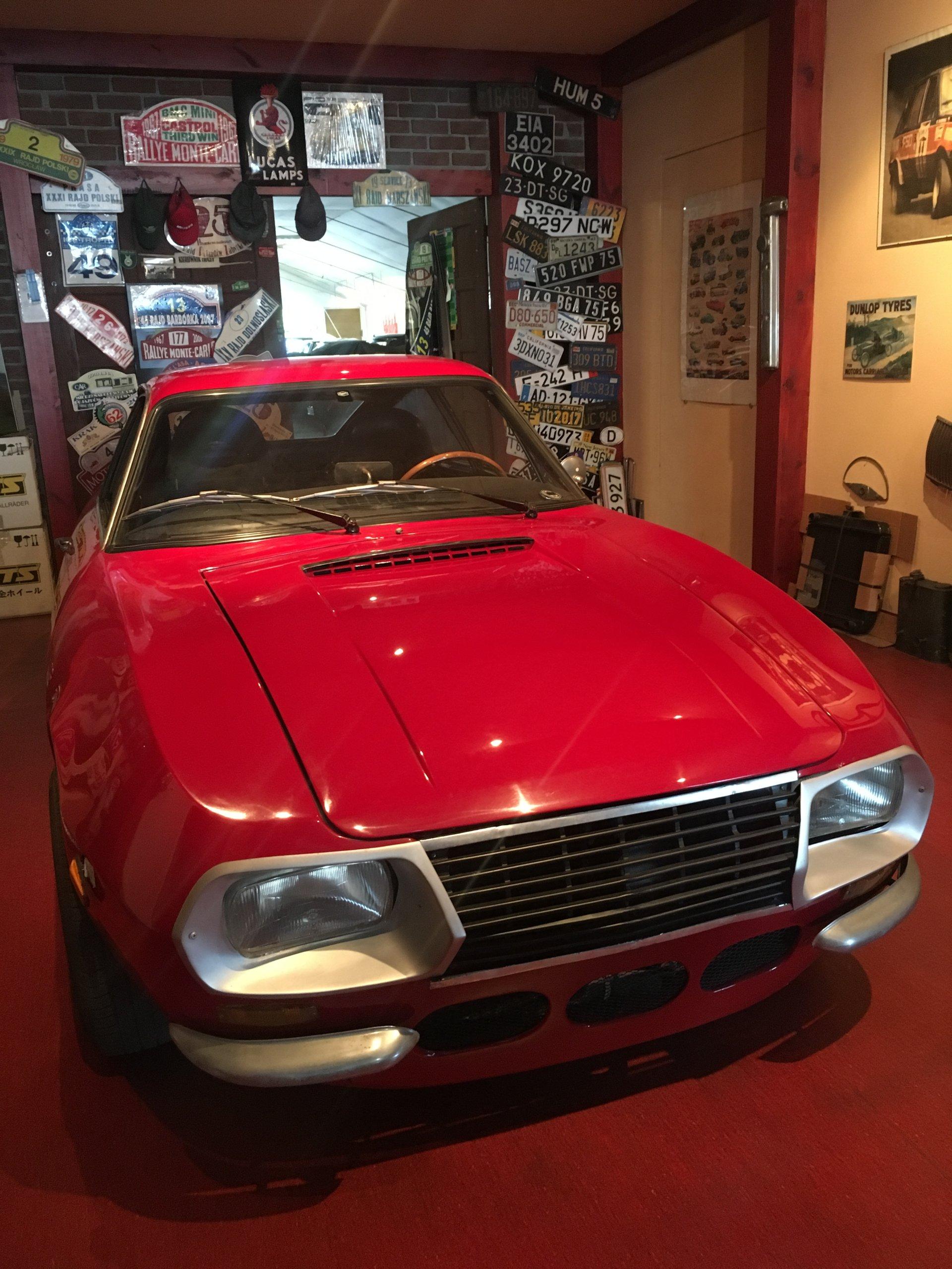Lancia Fulvia Sport 1.3S Zagato 1972
