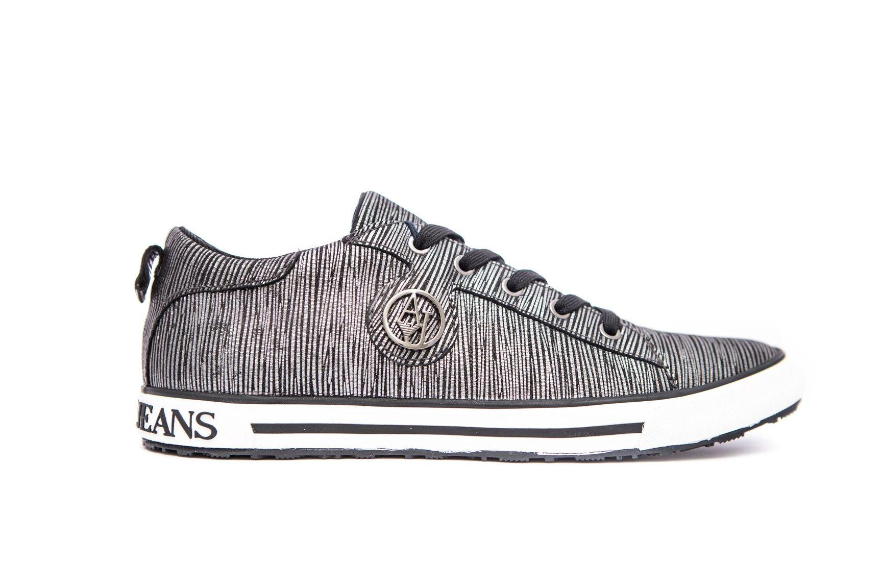 a2309dd568d08 Armani Jeans Buty D. Sneaker Antracite 40 - 6956424901 - oficjalne ...