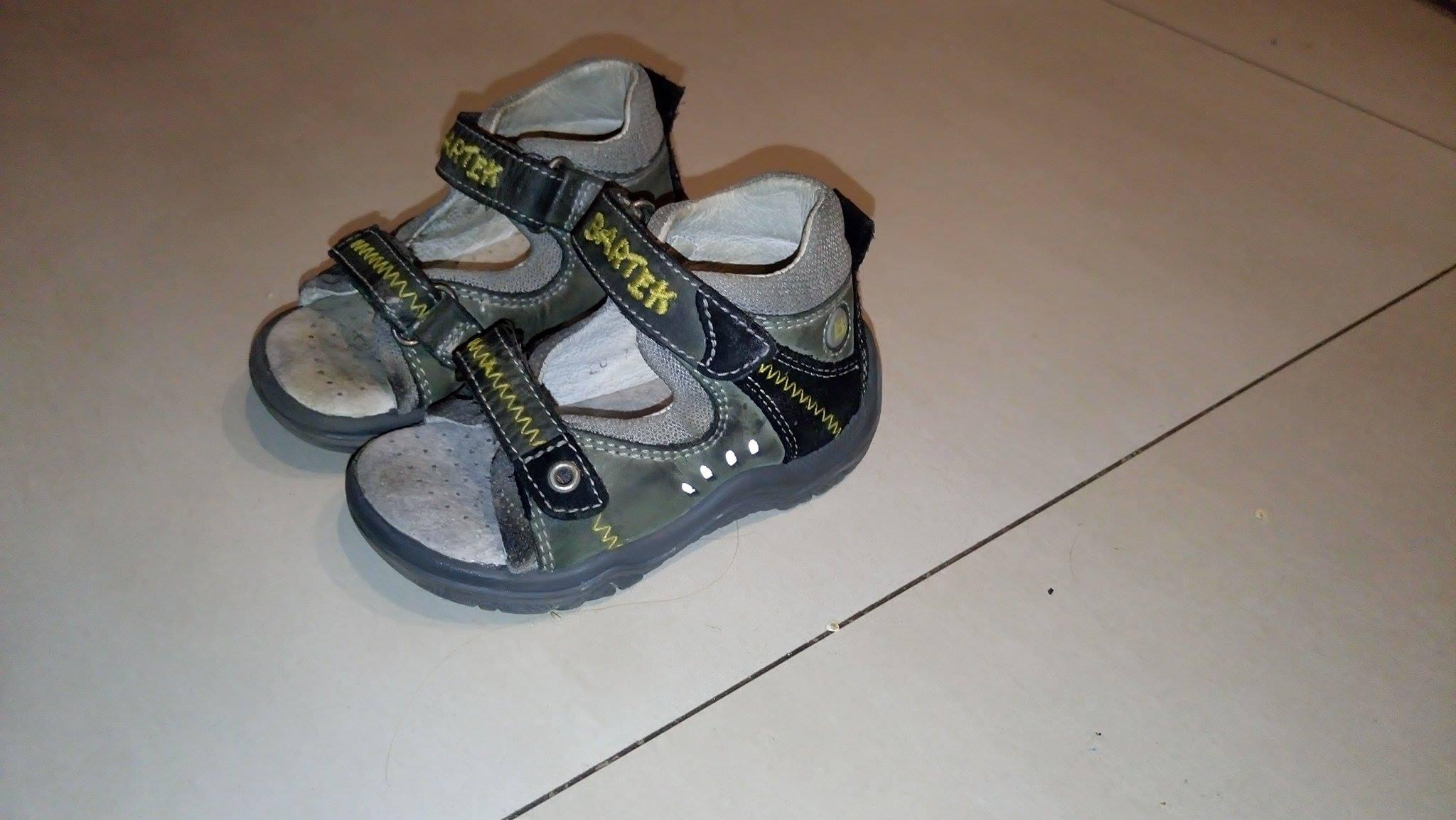 Sandałki Bartek rozm. 20 dla chłopca szare 13cm 7361416635