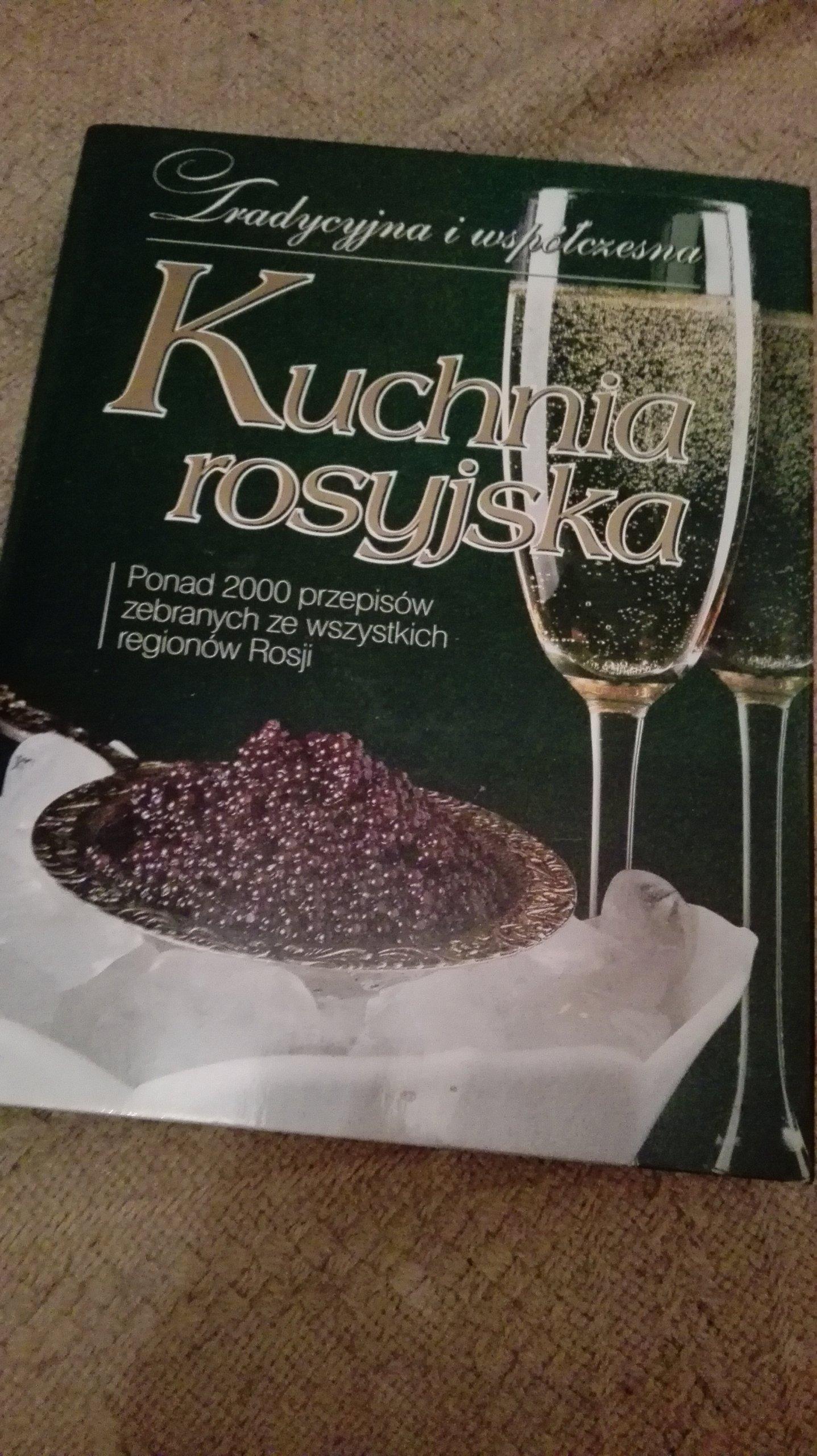 Kuchnia Rosyjska Książka Kucharska Nowa 7112973577