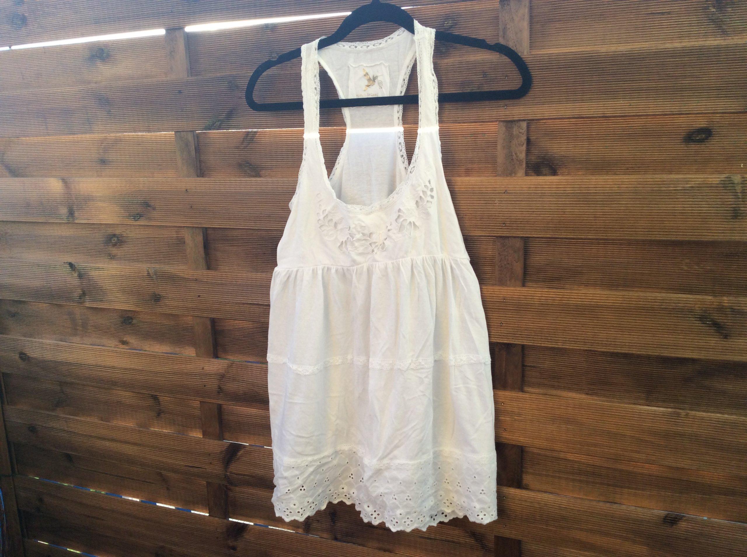0d18240087 Sukienka River Island rozmiar 38 biała - 7358360106 - oficjalne archiwum  allegro