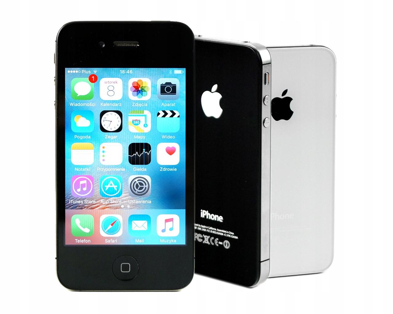 Okazja Iphone 4s Black 16gb Blokada Icloud