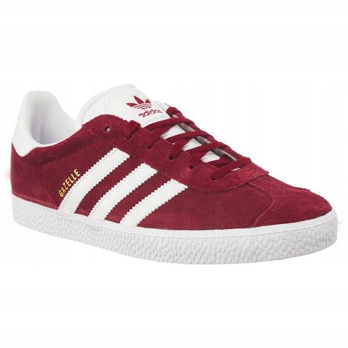 Adidas Sportowe Damskie Czerwone Zamszowe r.38 7586284366