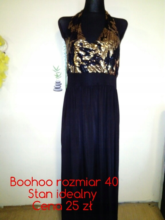 139c1530f1d0ed sukienka wieczorowa, cekiny, długa - 7660964482 - oficjalne archiwum ...