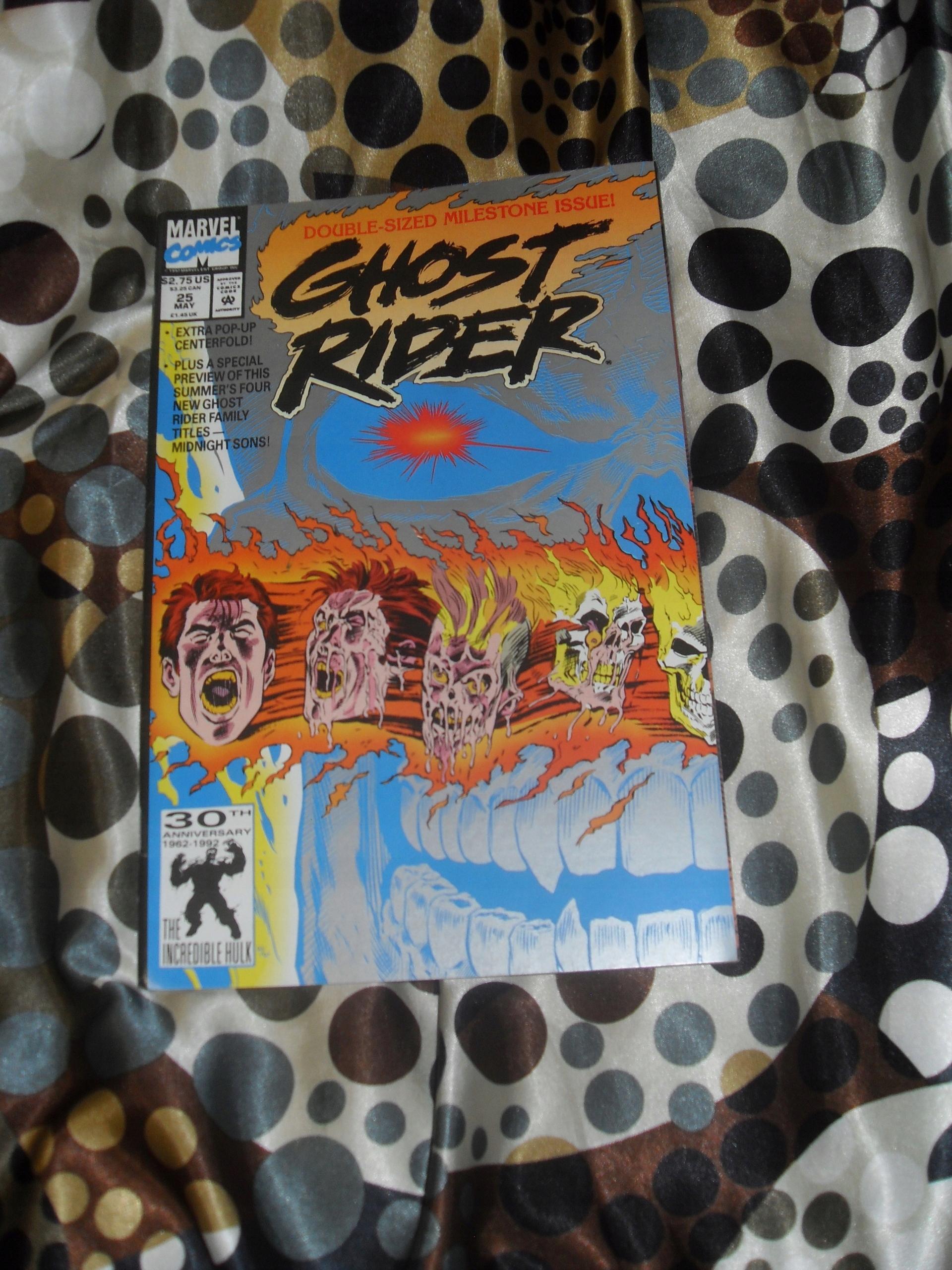 GHOST RIDER 1992 Vol.2 z rozkładanką pop up