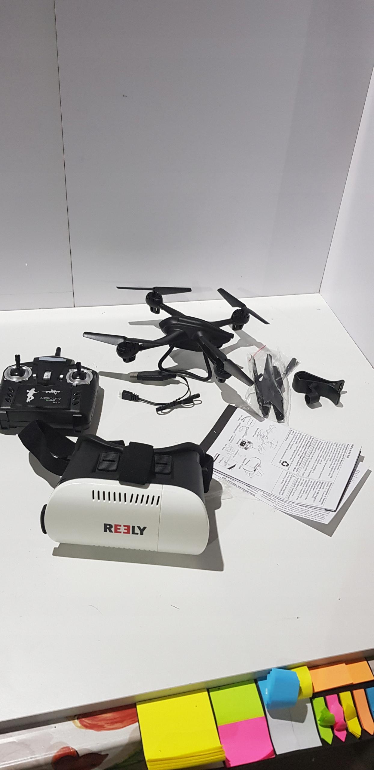 28580293b Dron Reely Mercury V2.0 VR FPV RtF Camera - 7623836291 - oficjalne ...